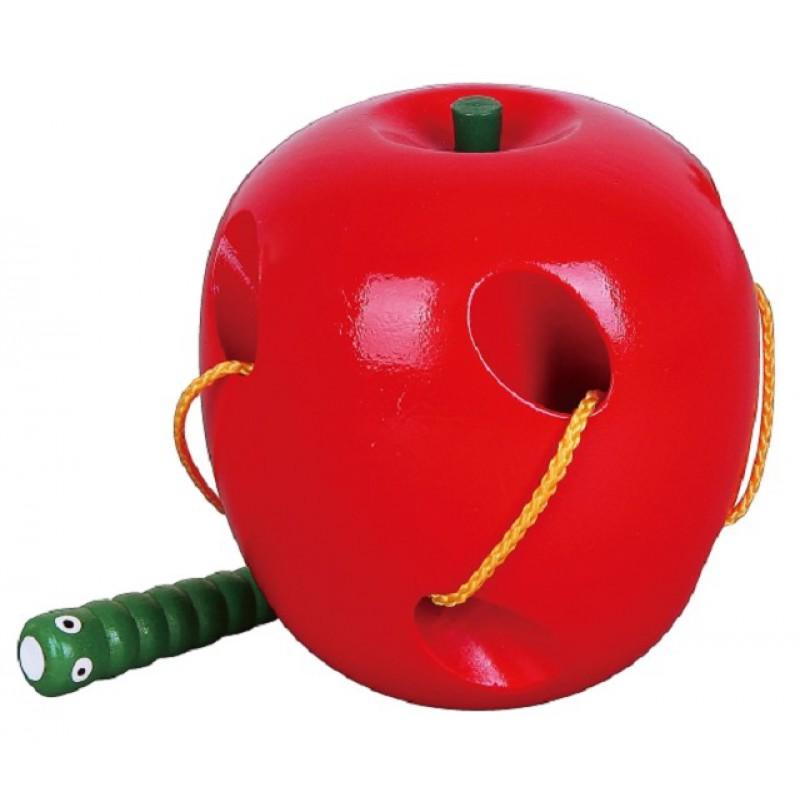 Rijgspel appel en rups