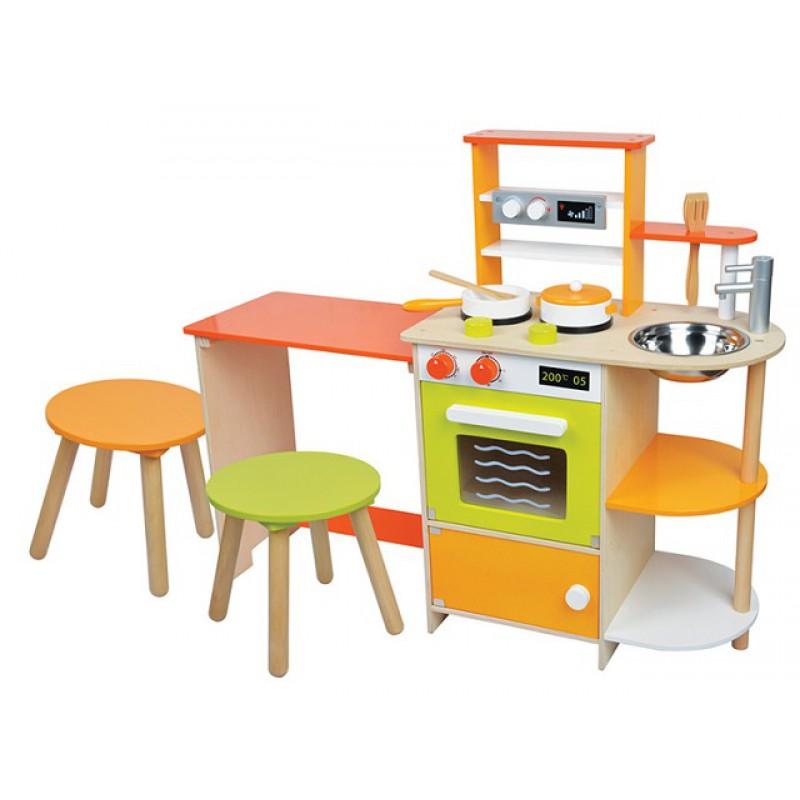 Kinderkeuken met zitgedeelte, Lelin