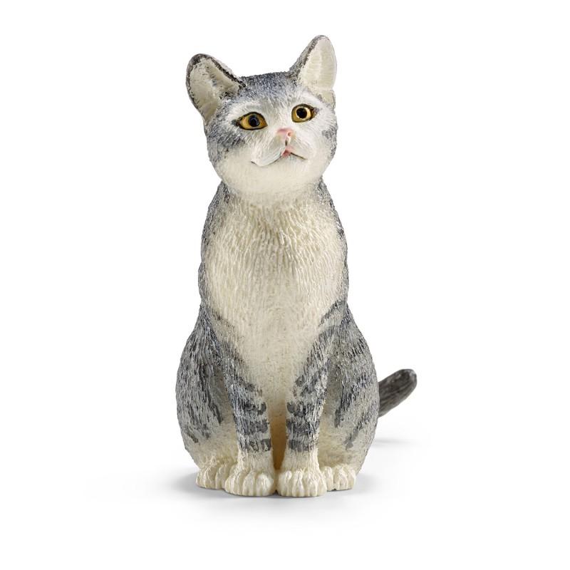 Kat zittend, Schleich