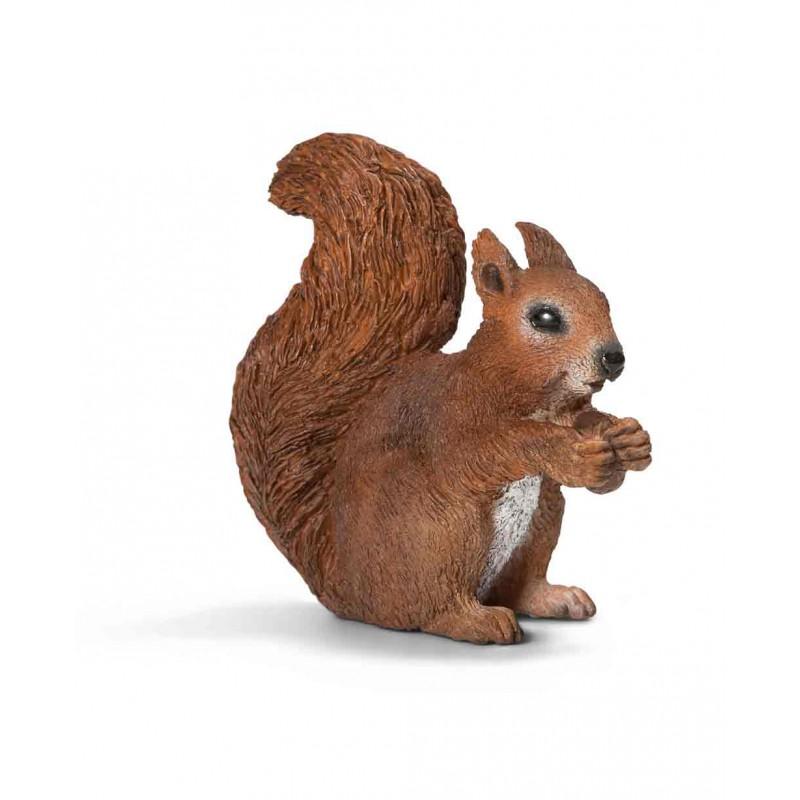 Knabbelend eekhoorntje, Schleich