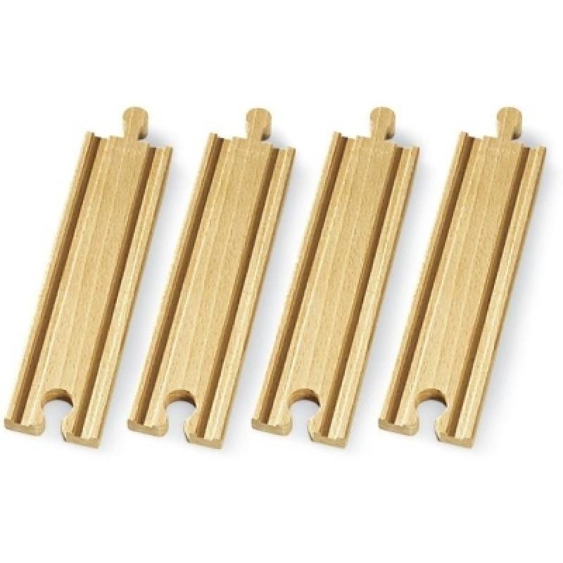 Medium rechte rails 2/3, Brio