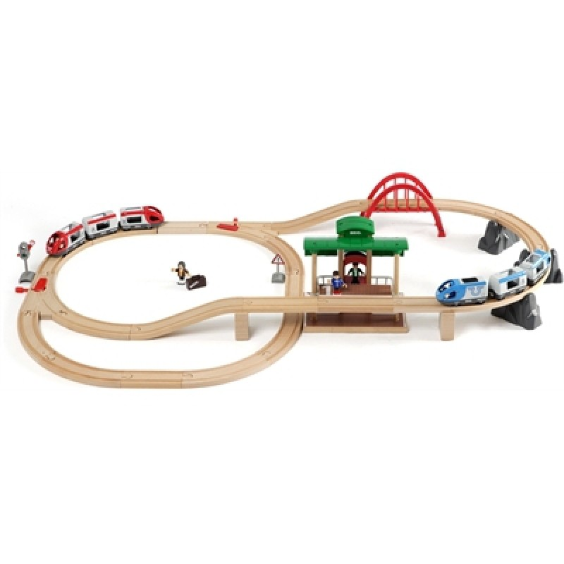 Travel Switching treinset, Brio