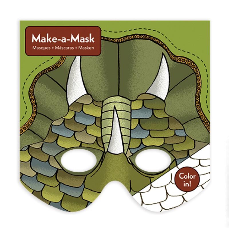 Make-a-Mask Dino's, Mudpuppy