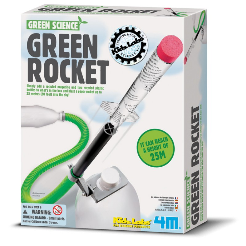 Groene raket, 4M KidzLabs