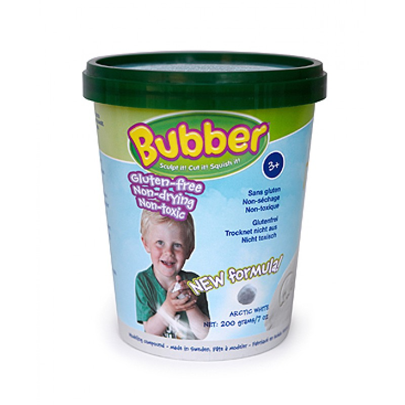 Bubber wit - 200 gr met lepelmes