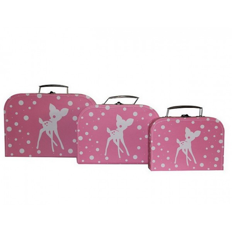 Koffertje Bambi Pink, Cara Caro