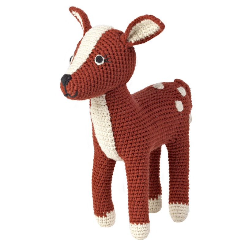 Gehaakte bambi, Anne-Claire Petit, 22 cm