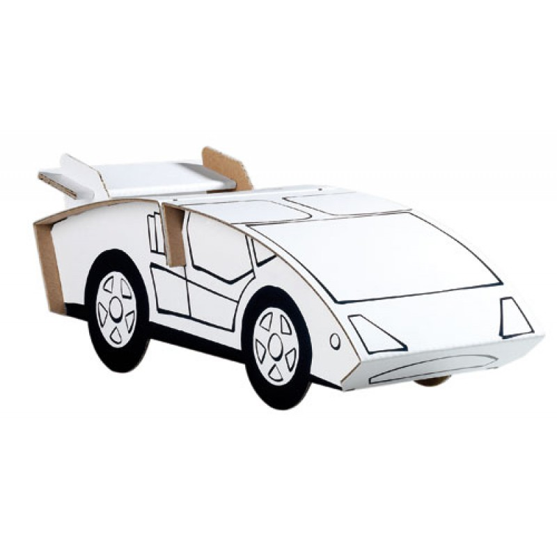 Bouwpakket sportwagen, Calafant level 1