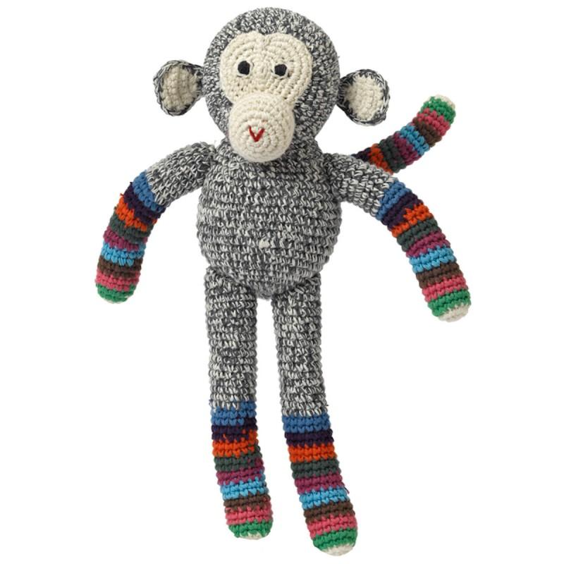 Gehaakte aap, Anne-Claire Petit, 30 cm