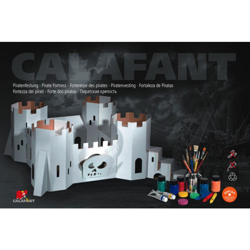 Bouwpakket piratenvesting, Calafant level 3