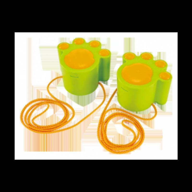 Groene loopklossen kattenpoten, Hape