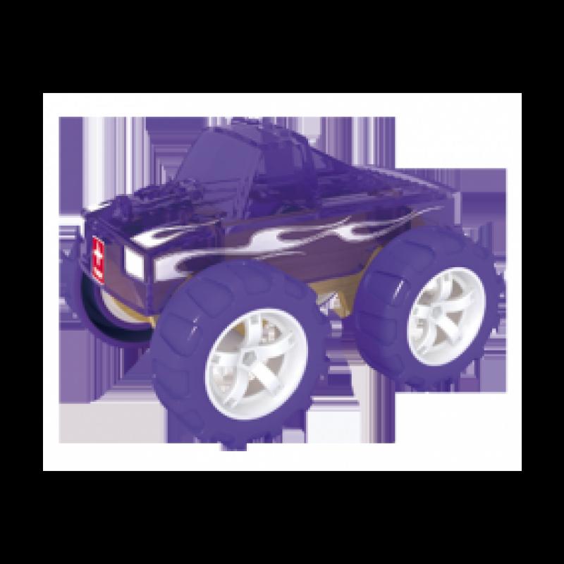 Bamboe auto Monster Truck, Hape