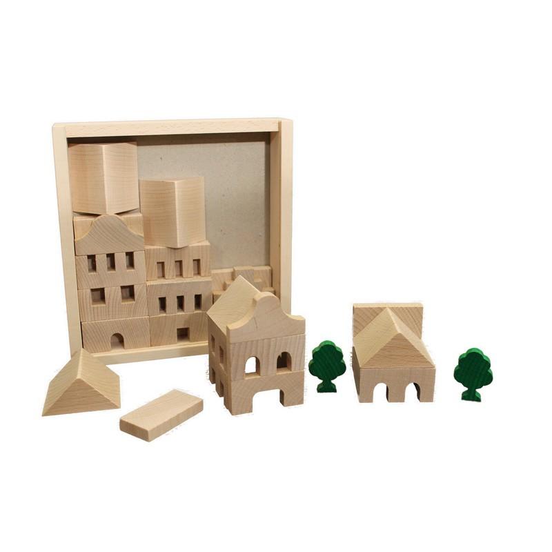 Blokkenset Architect 43-delig, Ebert