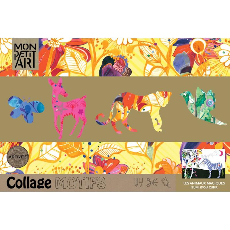 Magische dieren kleur- en plakboek, Mon Petit Art