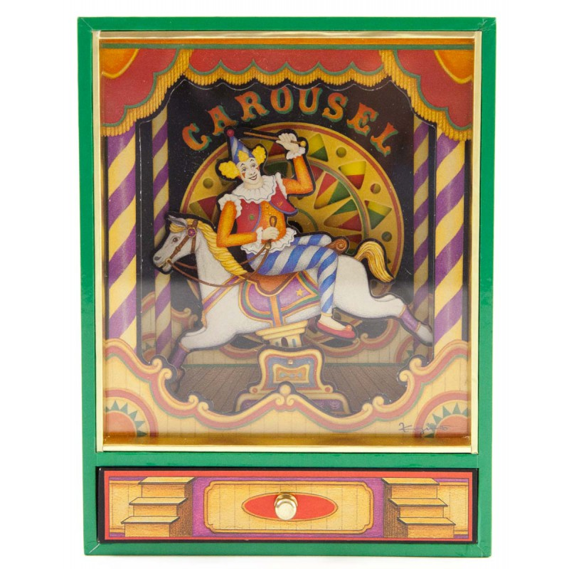 Muziekdoos Little Circus Carrousel