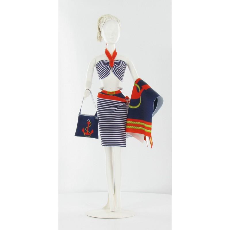 Nancy Marine kledingset, Dress Your Doll