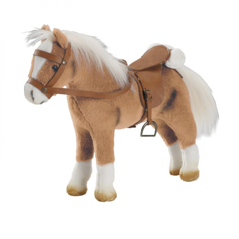 Lichtbruin paard voor je pop, Goetz
