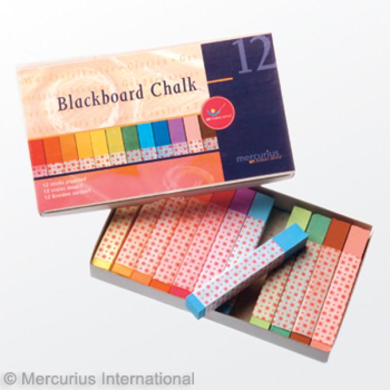 Bordkrijt 12 pastelkleuren, Mercurius