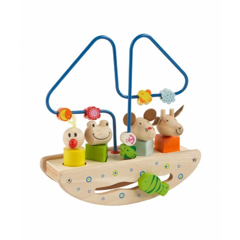 Activiteitenboot met puzzeldieren, Primi Passi