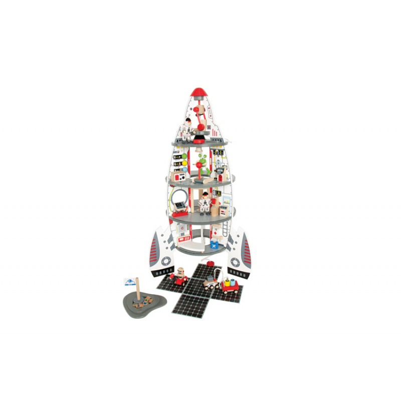 Ruimteschip Discovery Space Center, Hape