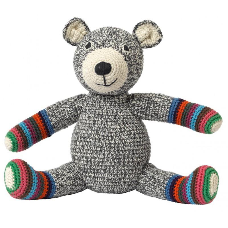 Gehaakte teddybeer, Anne-Claire Petit, 23 cm