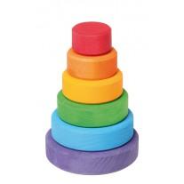 Kleine stapelringen regenboog, Grimm's