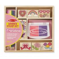 Stempelset Vriendschap, Melissa & Doug