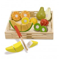 Snijset fruit in krat, Melissa & Doug