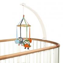 Baby Amuse mobielhouder wit, Franck & Fischer