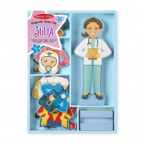 Magnetische aankleedpop Julia, Melissa & Doug