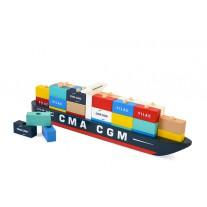 Houten containerschip, Vilac
