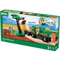 Safari treinset, Brio