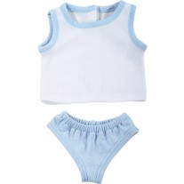 Blauw ondergoed pop, Goetz