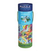 Puzzel & poster Europa, Crocodile Creek