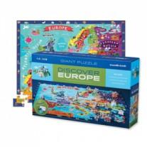Ontdek Europa puzzel, Crocodile Creek