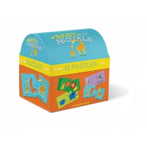 Puzzelbox Babydieren, Crocodile Creek
