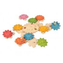 Gears tandwielenpuzzel Deluxe, Plan Toys