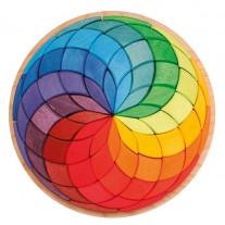 Grote blokkenpuzzel kleurenspiraal, Grimm's