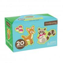 20 Magneten Forest Friends, Mudpuppy