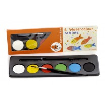 Waterverf 6 kleuren, Egmont Toys