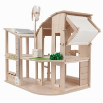 Groen poppenhuis, Plan Toys