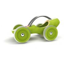 Bamboe raceauto groen, Hape