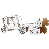 Bouwpakket koets met paard, Calafant level 1