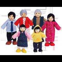 Poppenhuisfamilie Aziatisch, Hape