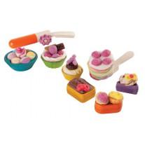Gebakjes kleivormen, Plan Toys