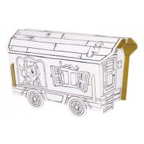 Bouwpakket circuswagen, Calafant level 1