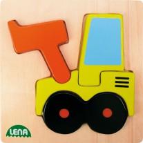 Mijn Eerste Puzzel Graafmachine, Lena