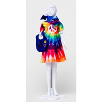 Twiggy Hippie kledingset, Dress Your Doll