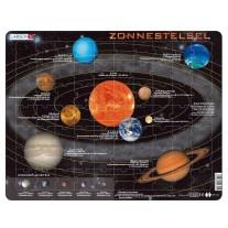 Educatieve puzzel Zonnestelsel, Larsen