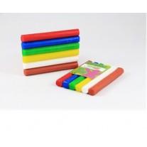 Fantasieklei 6 kleuren 90 gram, Weible